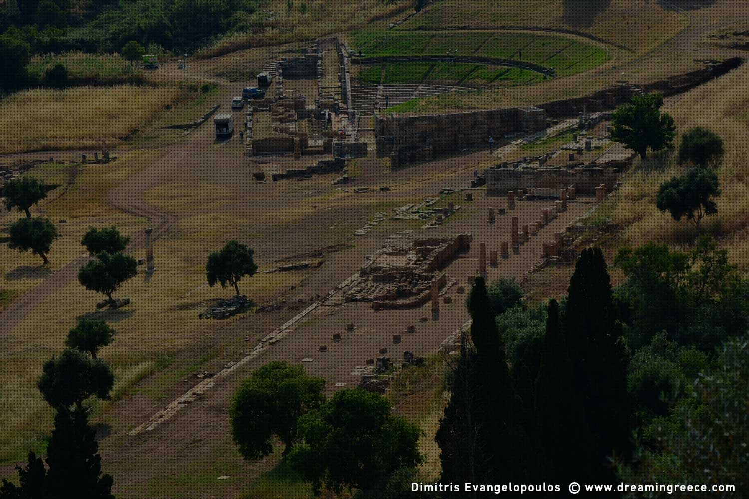 Archaeological Site Ancient Messene Greece