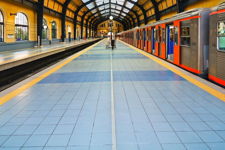 Piraeus Train Station Greece