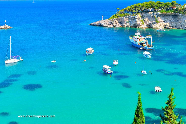 Holidays in Alonissos island Sporades Islands Greece