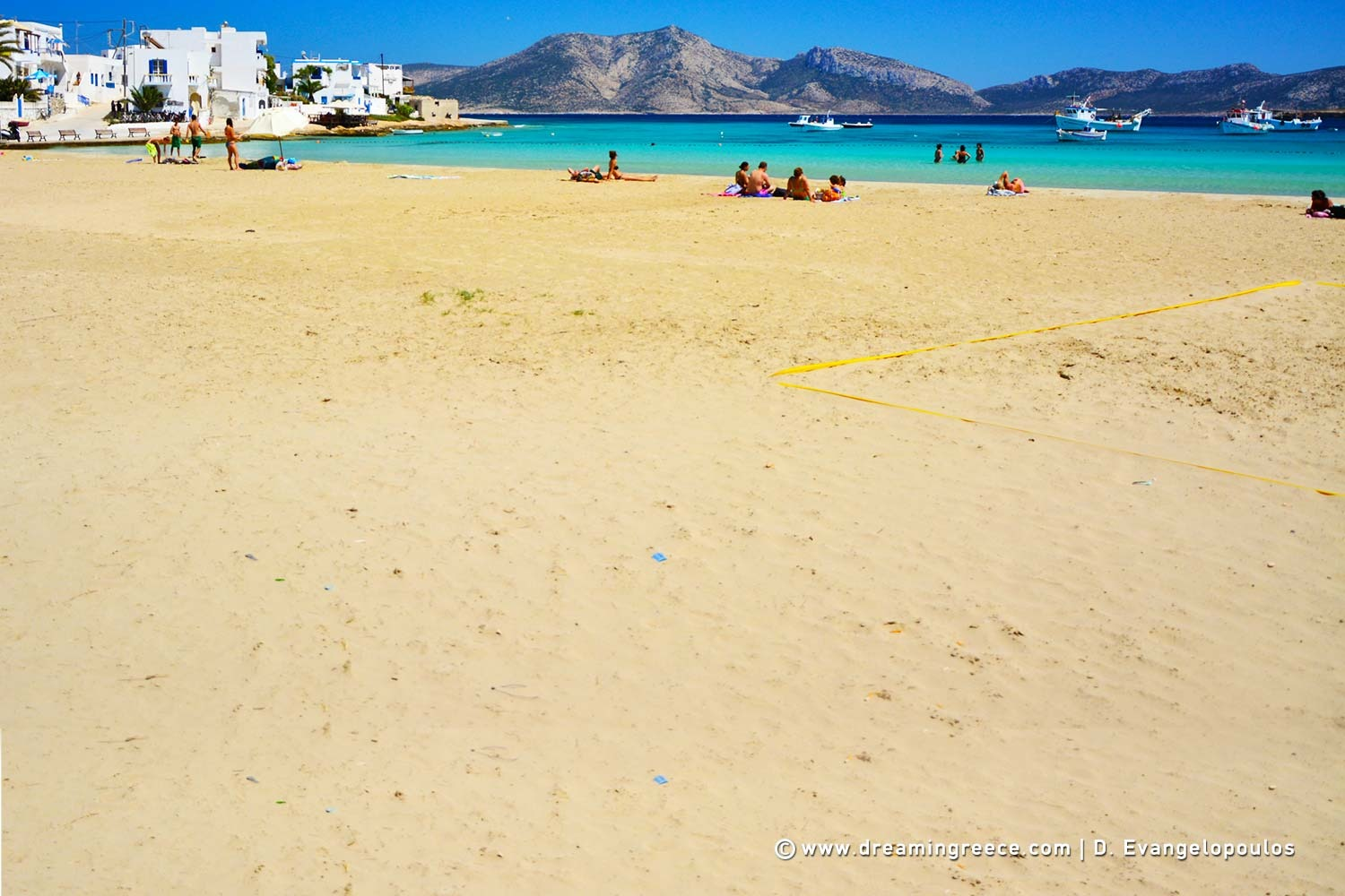 Holidays in Koufonisia island Small Cyclades Vacations Greece