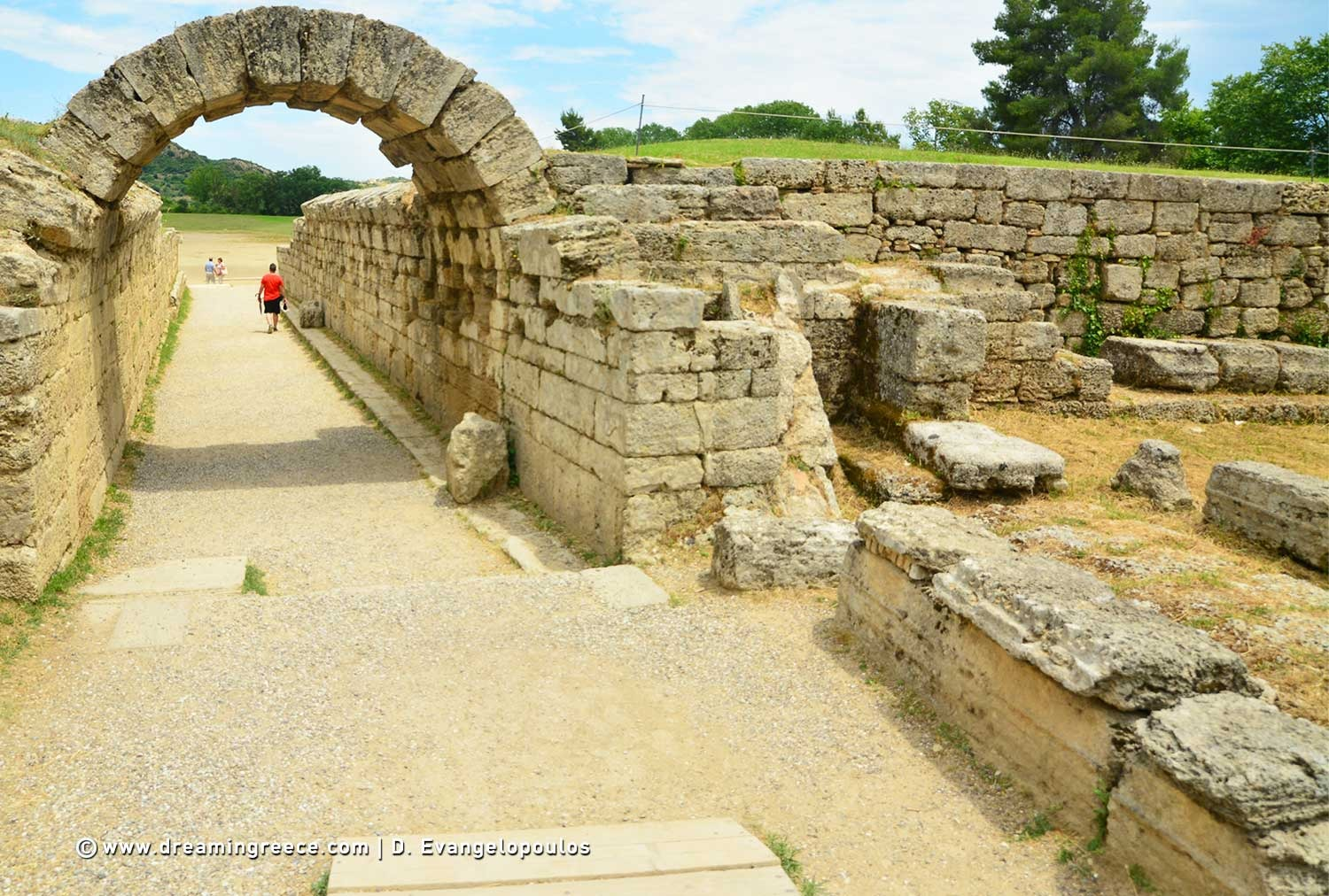Holidays in Ancient Olympia Ilia Peloponnese Greece