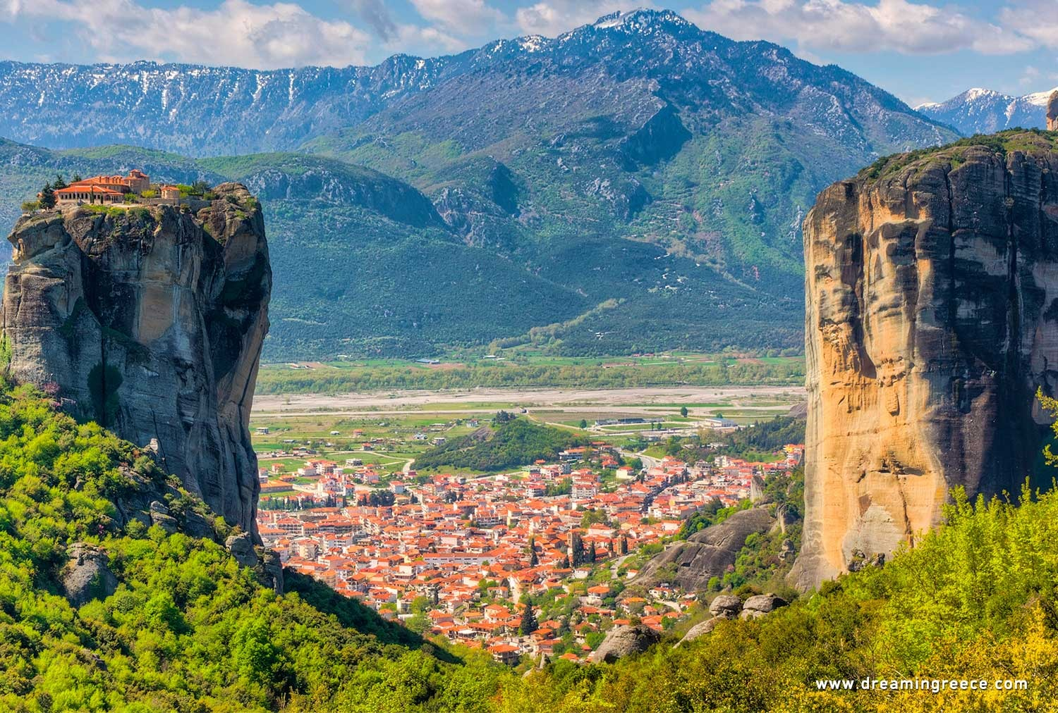 Holidays in Meteora Thessaly Greece
