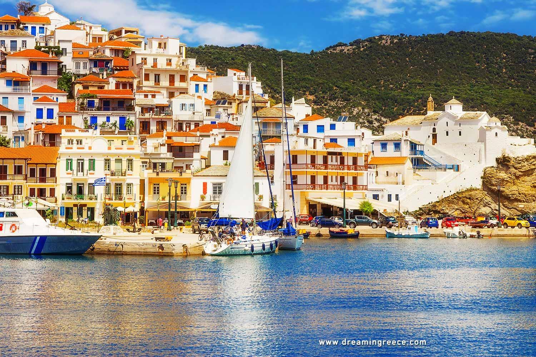 Holidays in Skopelos island Sporades Islands Greece