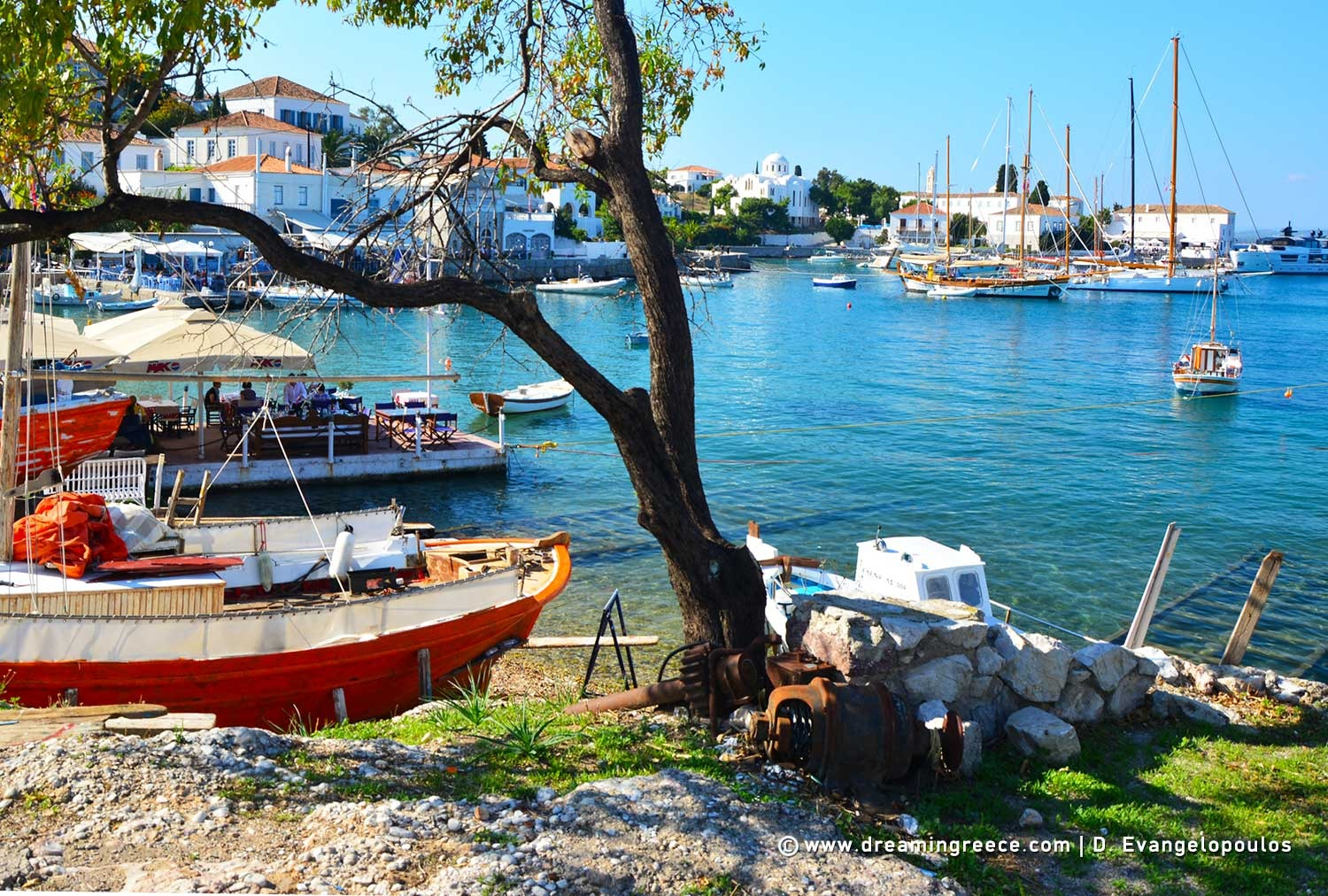 Holidays in Spetses island Greece Vacations Argosaronic islands