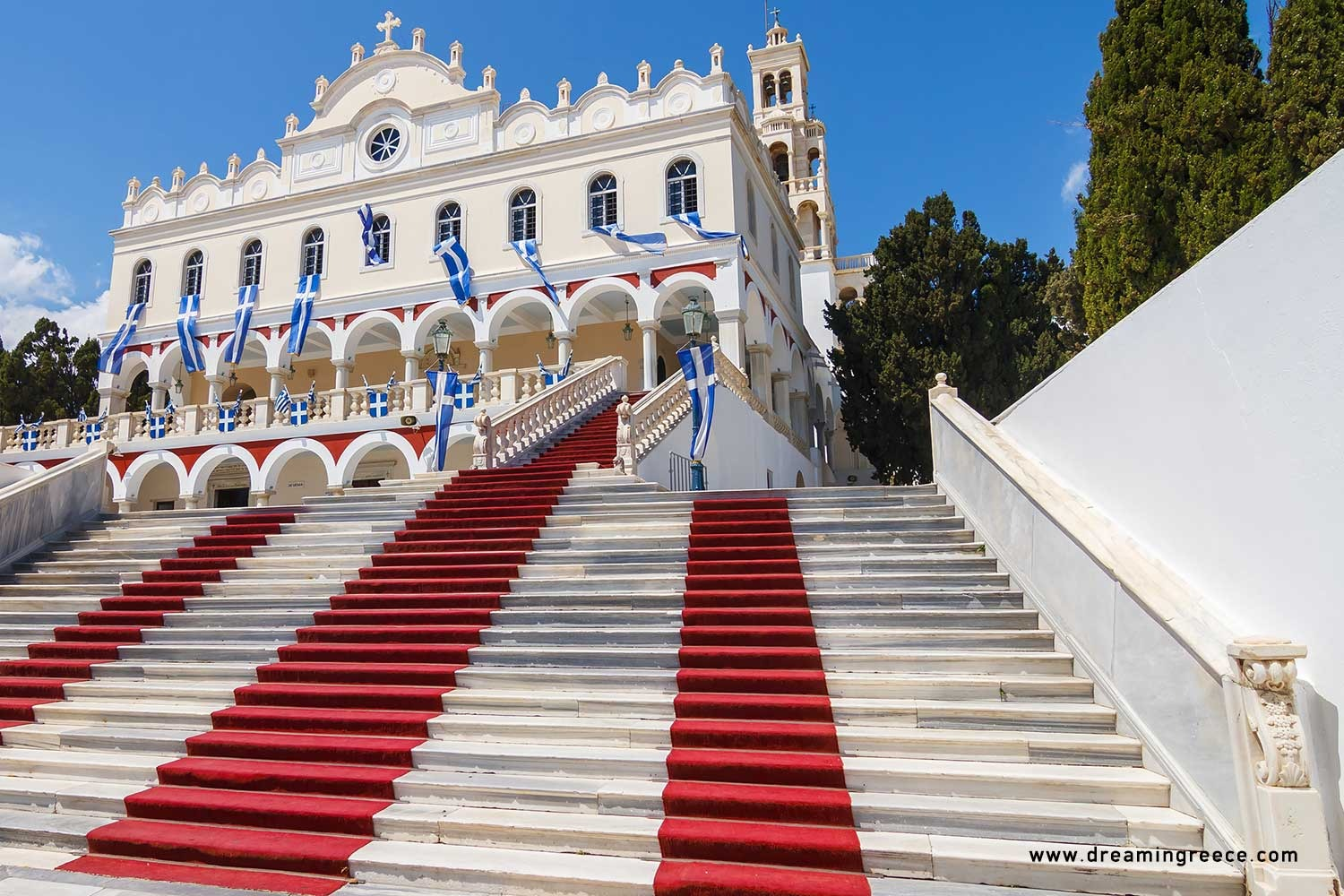 Holidays in Tinos island Cyclades Vacations Greece