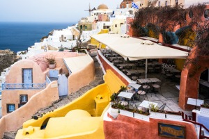 Kastro Oia Houses and Restaurant Santorini Greece