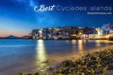Vacations Greek islands Greece. Holidays Cyclades islands.
