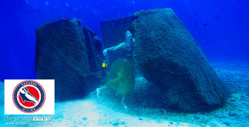Azzurro Diving Center. Scuba Diving Athens Greece.
