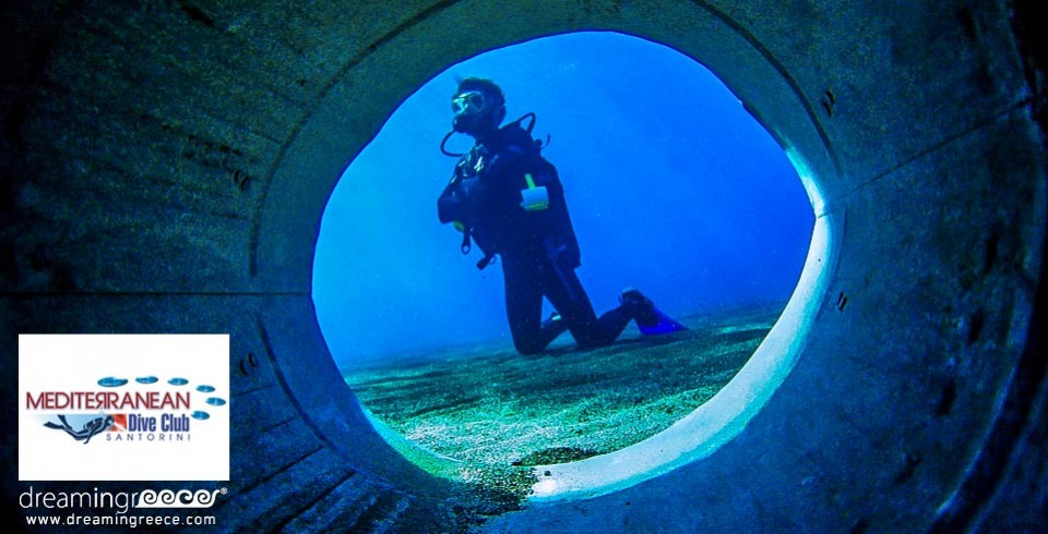 Mediterranean Dive Club Scuba Diving in Santorini Greece. Diving Centers Greece