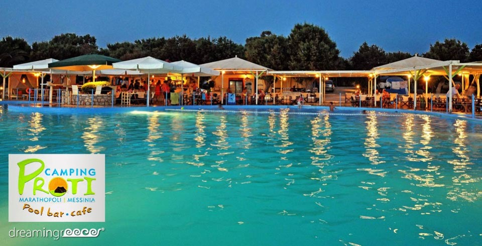 Camping Proti Marathopoli Messinia Camping in Greece