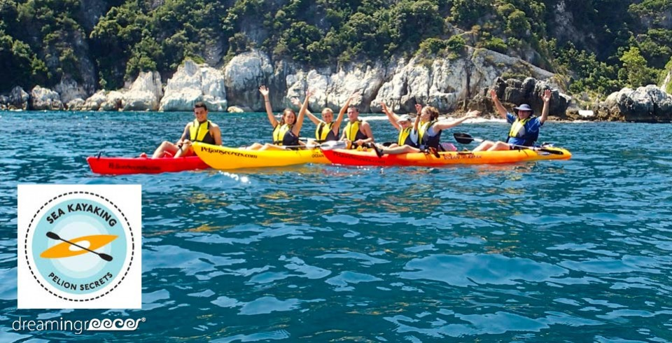 Sea Kayak Kayaking in Greece Pelion Secrets