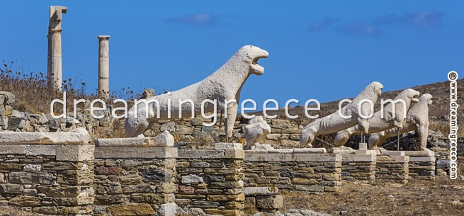 Archaeological Site of Delos - Museum Greece