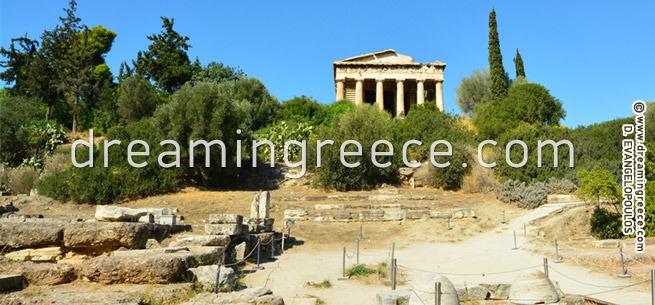 Ancient Agora of Athens Greece. Discover Greece.