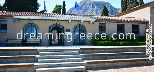 Archaeological Museums of Ancient Corinth Greece. Holidays in Greece.