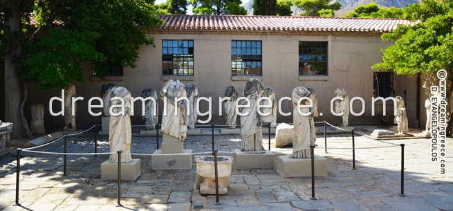 Archaeological Museum. Ancient Corinth Greece. Discover Greece