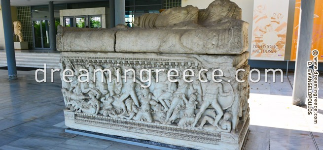 Archaeological Museum of Thessaloniki Greece. Holidays in Greece