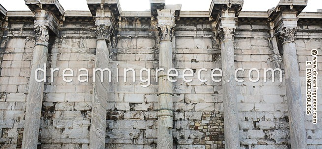 Archaeological Site of the Roman Agora Greece. Holidays in Greece.