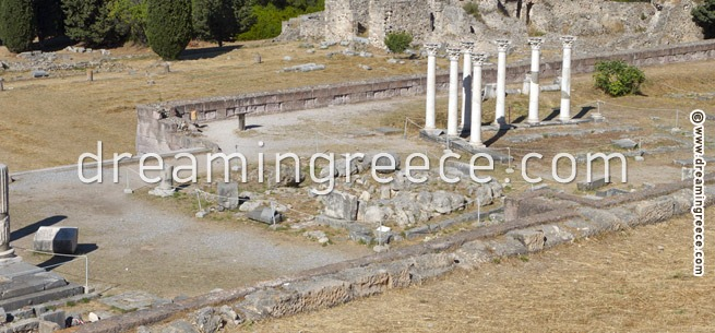 Asclepio of Kos Greece. Vacations in Greece.