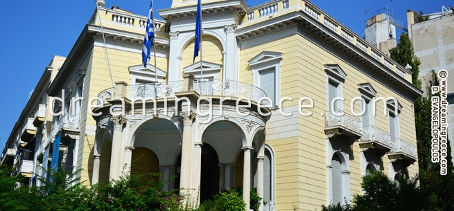 Museum of Cycladic Art Athens Greece