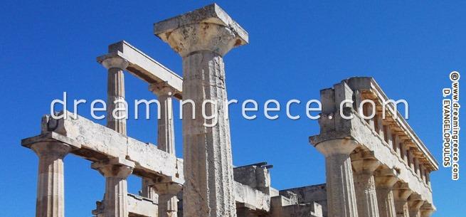 Temple of Aphaia - Aegina Greece. Discover Greece.