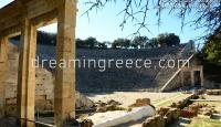 Ancient Theater of Epidavros Peloponnese Greece
