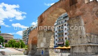 Galerius Arch in Thessaloniki. Travel Guide of Greece