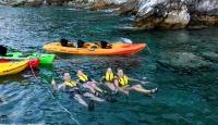 Sea Kayak Pelion Secrets. Sea Kayaking in Greece.