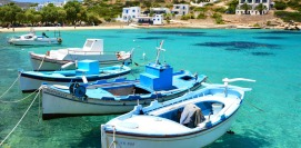 Holidays in Iraklia island Small Cyclades Vacations Greece