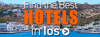 Ios Hotels in Greece. Vacations in Ios Greece